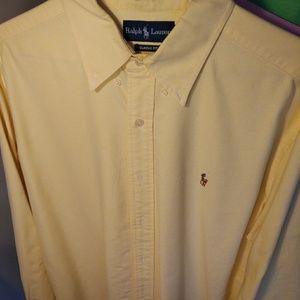 Polo Ralph Lauren XL Classic Button-up Dress Shirt
